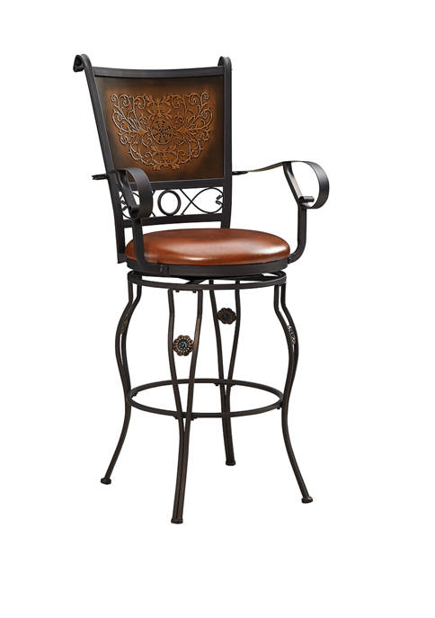 Powell Company Morales Barstool with Arms