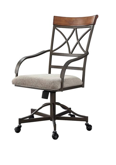 Powell Company Elyse Swivel Arm Chair