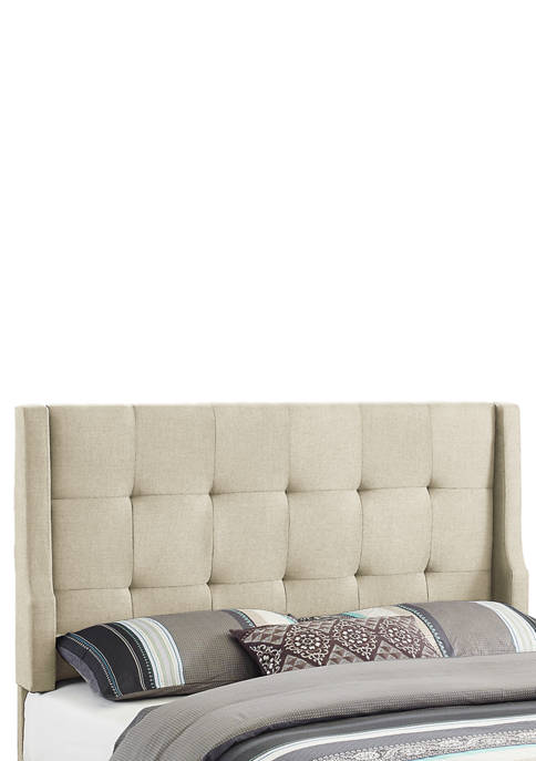 Linon Home Décor Products Akira Natural Full/Queen Headboard