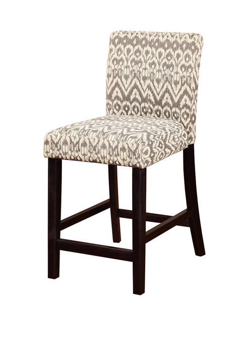 Linon Home Décor Products Costa Driftwood Counter Stool