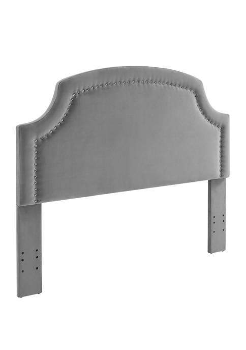 Linon Home Décor Products Jaxton Dove Full/Queen Headboard
