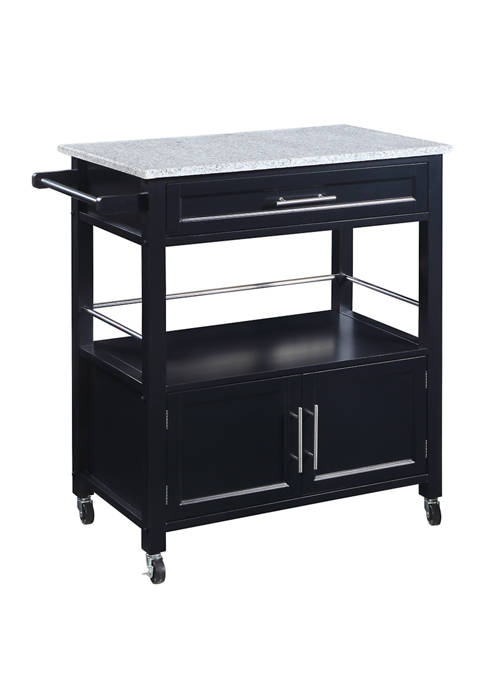 Linon Home Décor Products Aspen Kitchen Cart with