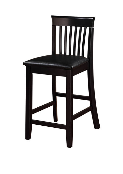 Linon Home Décor Products Cohen Craftsman Counter Stool