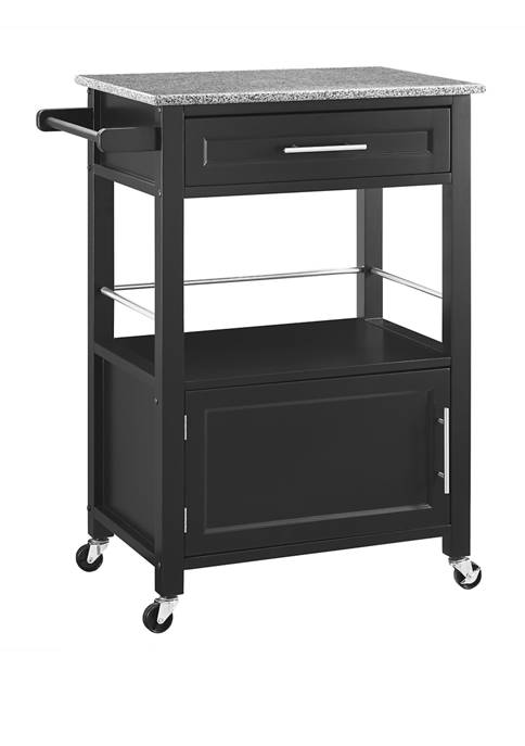 Linon Home Décor Products Denver Kitchen Cart with