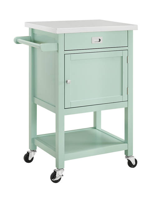 Linon Home Décor Products Davis Apartment Cart
