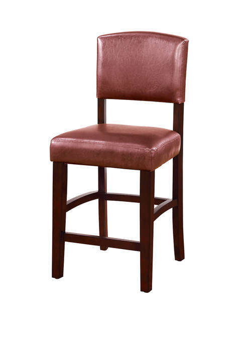 Linon Home Décor Products Sedona Red Counter Stool