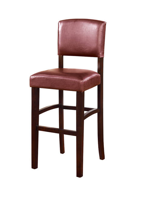 Linon Home Décor Products Sedona Red Bar Stool