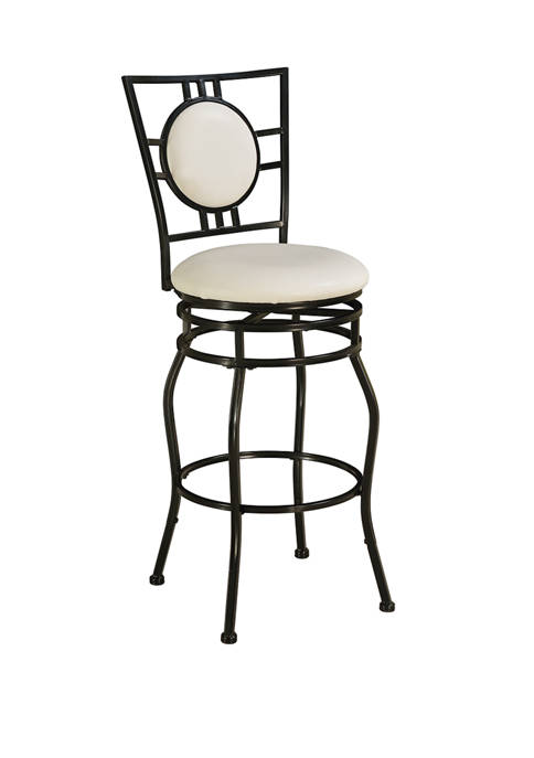 Linon Home Décor Products Memphis Adjustable Stool