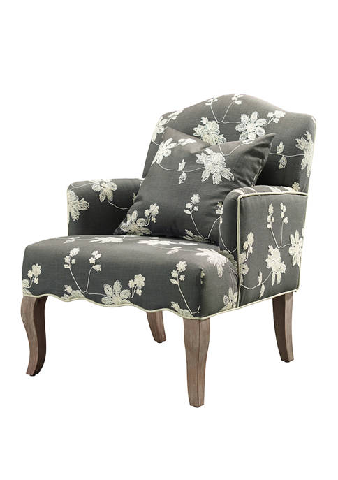 Linon Home Décor Products Morena Floral Arm Chair