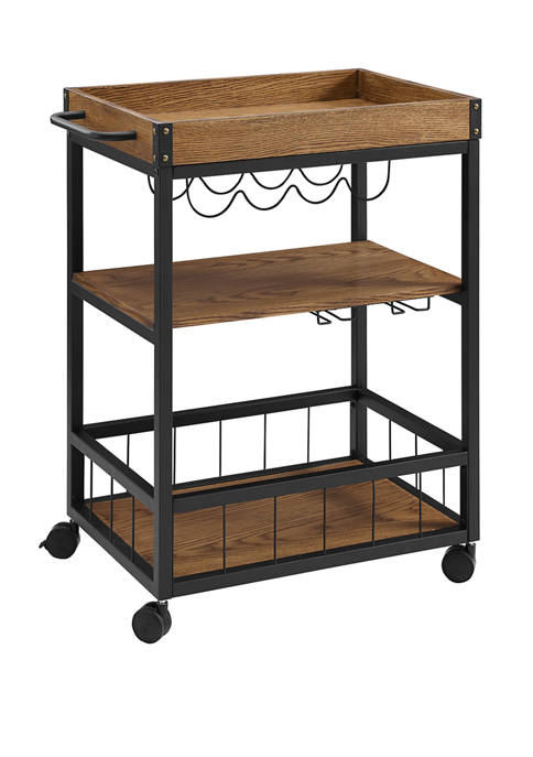 Linon Home Décor Products Fallin Kitchen Cart