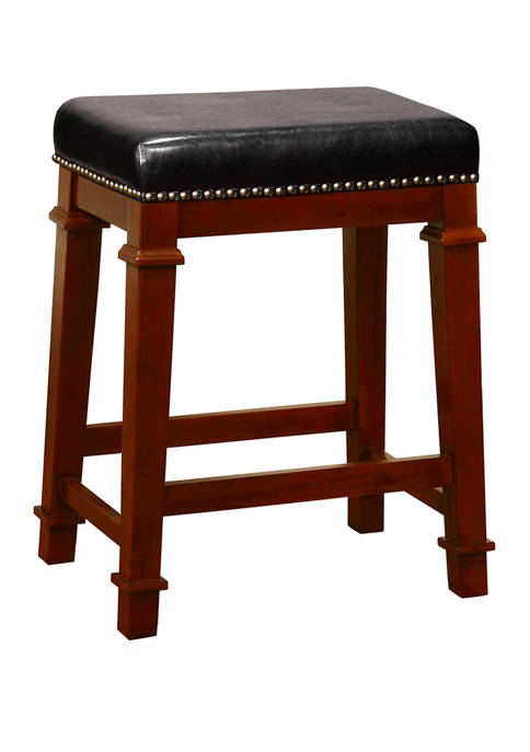 Linon Home Décor Products Ashford Backless Counter Stool