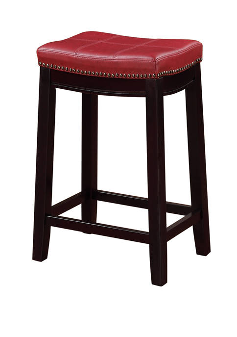 Dallas Red Counter Stool