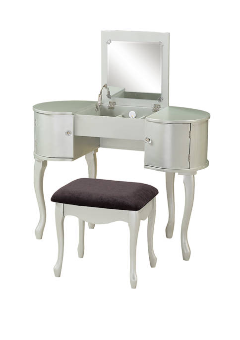 Linon Home Décor Products Kendall Vanity Set