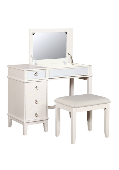Linon Home Décor Products Kelly Vanity Set