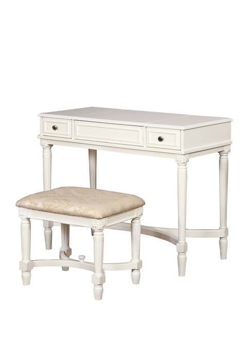 Linon Home Décor Products Kara Vanity Set