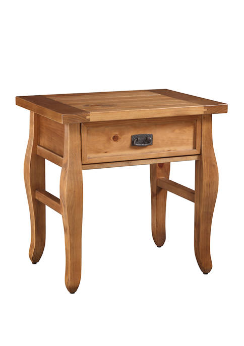 Linon Home Décor Products Diego End Table Antique