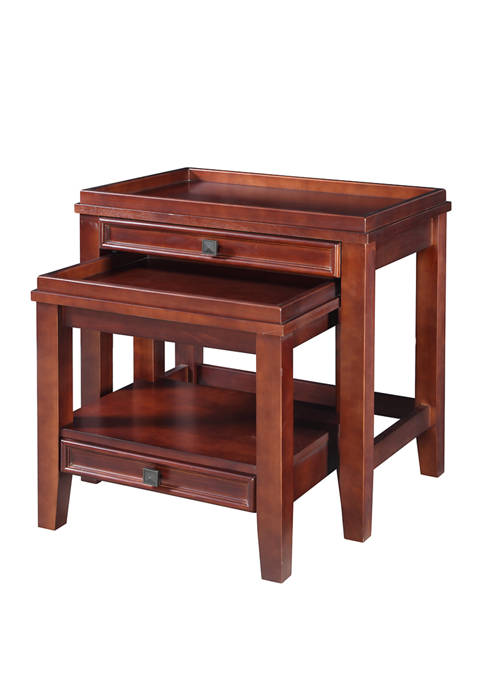 Linon Home Décor Products Walker Nesting Tables