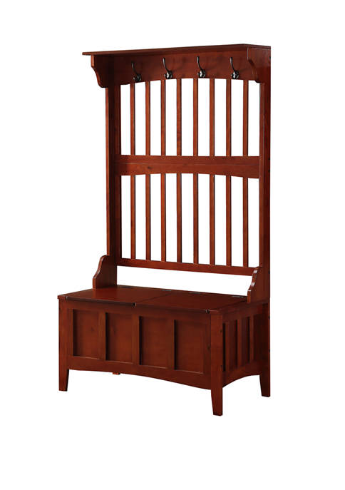 Linon Home Décor Products Newport Hall Tree with