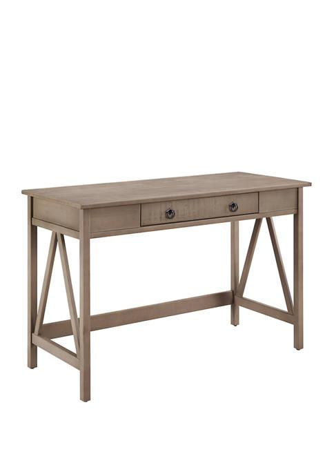 Linon Home Décor Products Larson Driftwood Desk