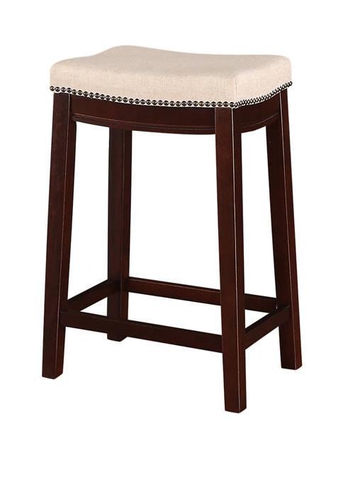 Linon Home Décor Products Dakota Fabric Top Counter