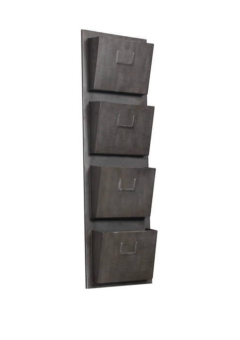 Linon Home Décor Products Thomas Industrial Metal Four