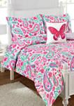 Watercolor Flutter  Comforter Set