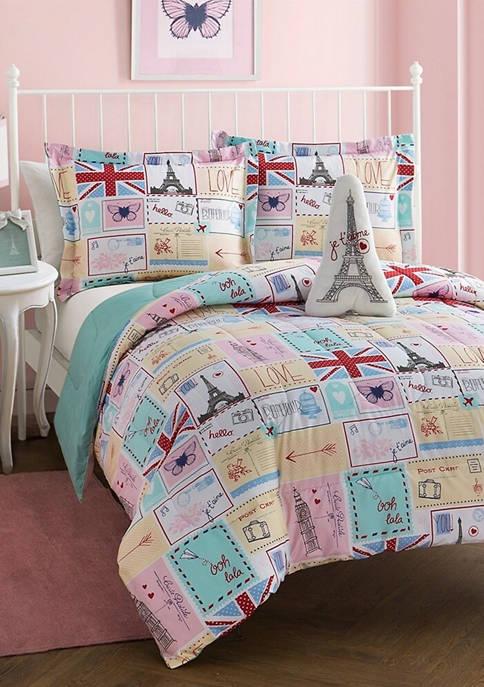 Bonjour Patchwork Comforter Set
