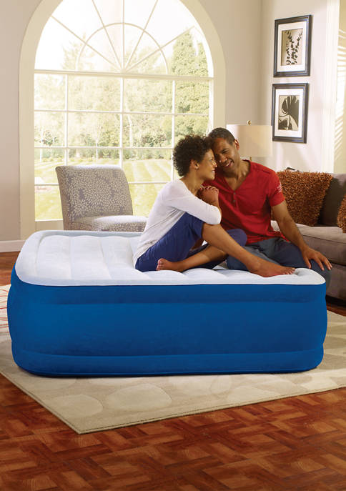 Simmons Plushaire Raised Air Mattress with Pump