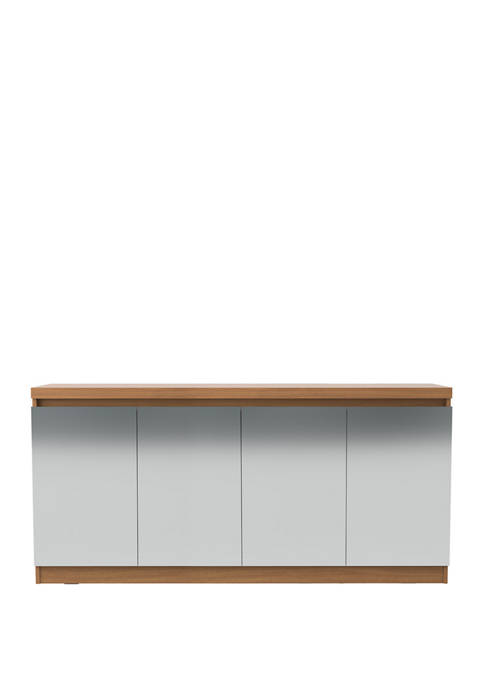 62.99 Inch Viennese Buffet Cabinet with Mirrors