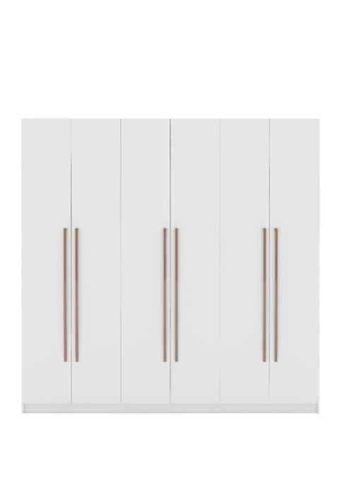 Manhattan Comfort Gramercy Wardrobe Armoire Closet