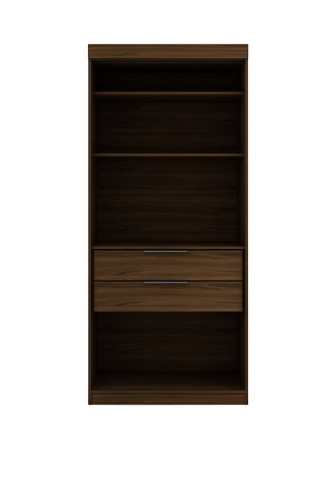 Mulberry Open 1 Sectional Armoire Wardrobe Closet