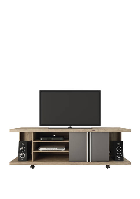 Nature and Onyx Carnegie TV Stand