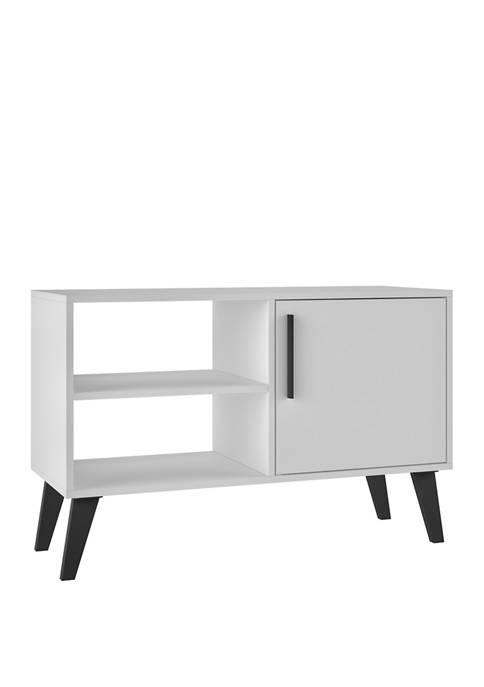 Manhattan Comfort 35.43 Inch White Amsterdam TV Stand