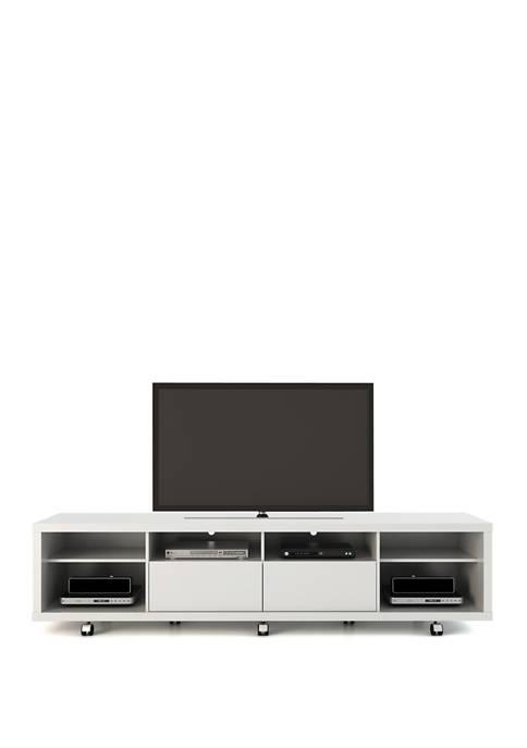 Cabrini TV Stand 2.2 Inch White Gloss