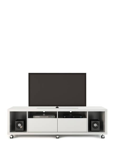 White Gloss Cabrini TV Stand