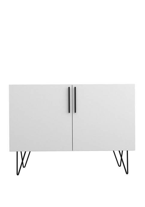 White Nolita Double Side Cabinet