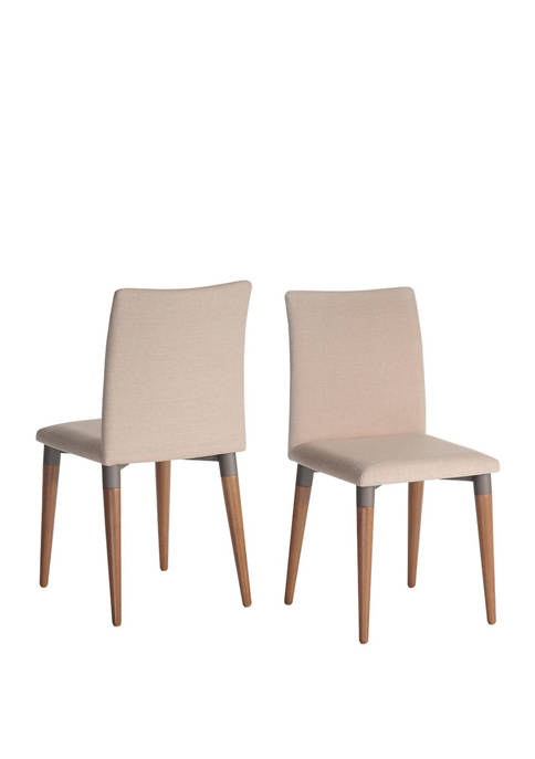 Manhattan Comfort Charles 2 Piece Dining Chair Set