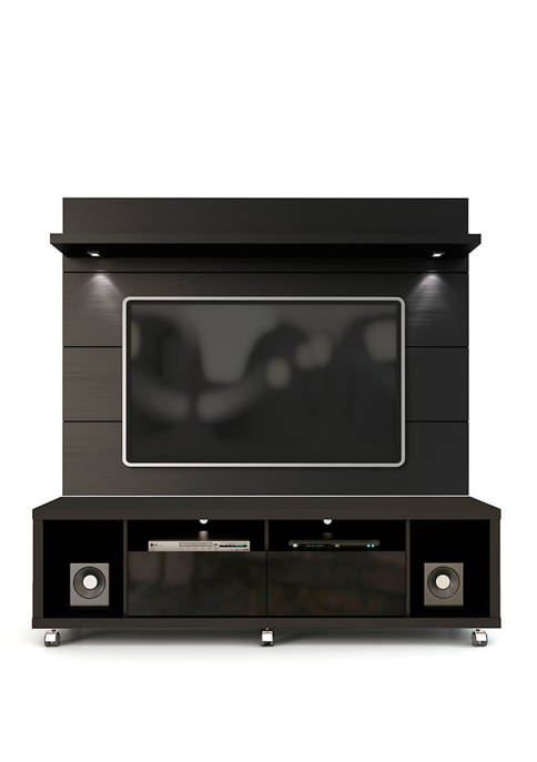 Manhattan Comfort Cabrini TV Stand and Floating Wall