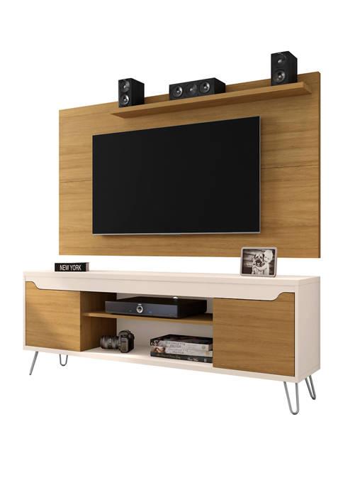 Manhattan Comfort 62.99 Inch Baxter TV Stand and