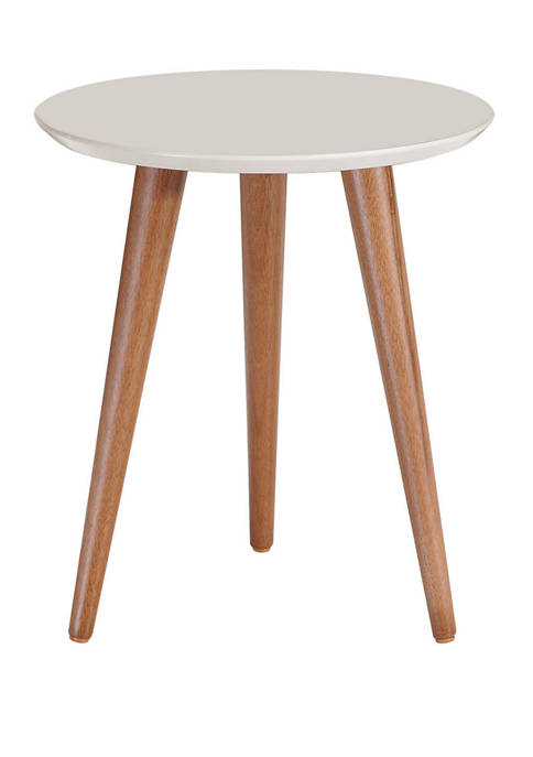 Manhattan Comfort 17.32 Inch Moore Round End Table