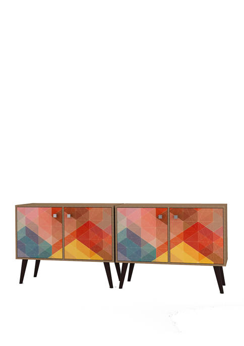 Set of 2 Avesta Double Side Tables