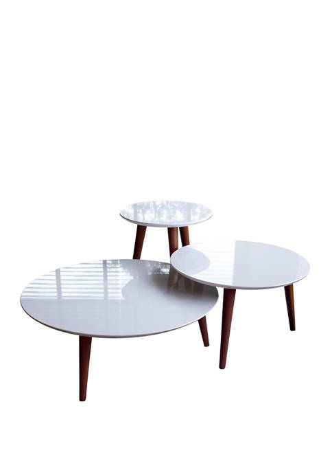 Moore 3 Piece Round End Tables