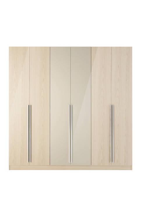 Eldridge 4 Drawer Freestanding Armoire