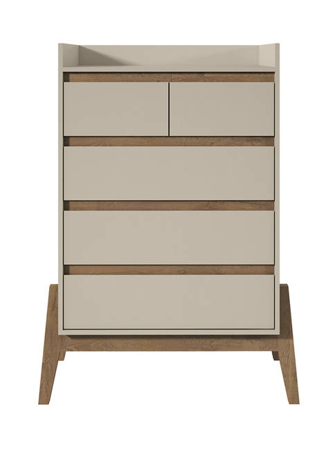 Manhattan Comfort 48.23 Inch Essence Tall Dresser