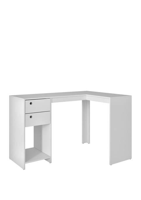 Manhattan Comfort Palermo Classic L-Desk