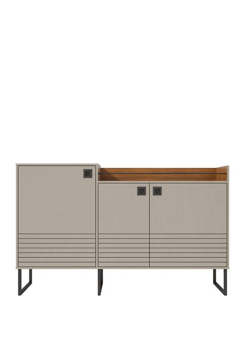 Manhattan Comfort 62.59 Inch Loft Buffet Stand