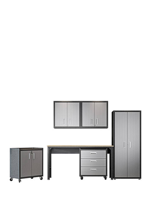 Manhattan Comfort Fortress 6 Piece Garage Set