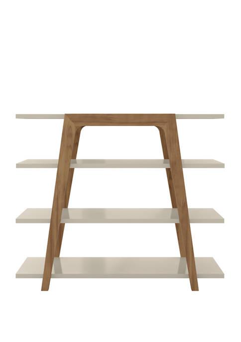 Manhattan Comfort 47.24 Inch Gowanus Ladder Bookcase