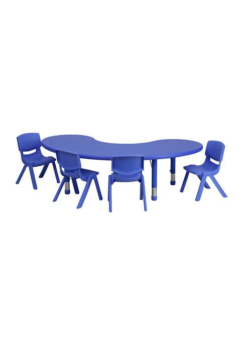 Adjustable Moon Activity Table Set