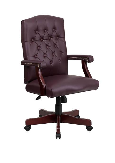 Flash Furniture Martha Washington Executive Swivel Office Chair